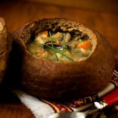 Czech Potato Soup with Wild Forrest Mushrooms, bursting with flavours and perfect for a Meatless Monday meal or a holiday dinner.