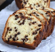 This super simple recipe for chocolate chip yogurt gluten free quick bread always makes a perfectly moist and tender loaf! This super simple recipe for chocolate chip yogurt gluten free quick bread always makes a perfectly moist and tender loaf! Gluten Free Quick Bread, Quick Bread Recipes, Gluten Free Sweets, Gluten Free Chocolate, Gluten Free Cooking, Chocolate Recipes, Chocolate Chips, Cooking 101, Gluten Free Muffins