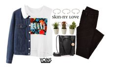 """""""#Yoins"""" by credentovideos ❤ liked on Polyvore featuring Forever 21, women's clothing, women, female, woman, misses and juniors"""
