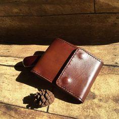 4b9473d7a2 Compatto portafoglio verticale & card titolare / / italiani fatti a mano/ portafoglio uomo in pelle/maschile / regalo per lui