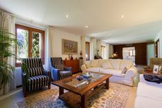 Cute and contemporany #livingroom.  #pollentiaproperties #villaforsale