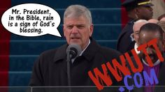 Franklin Graham Said Rain is a Sign of God's Blessing on President Trump?