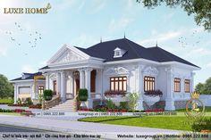 Classic House Exterior, Classic House Design, Simple House Design, House Front Design, Modern House Design, House Plans Mansion, Family House Plans, Village House Design, Kerala House Design