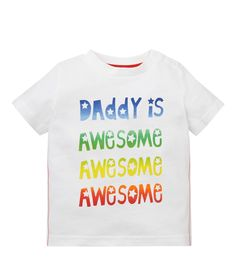 Mothercare Camiseta M/C Letras - Promocion camisetas 2 x 1 - Mothercare