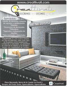 Diseño de interiores, creación de espacios  y ambientación. Accesorios de decoración, alfombras, tapicería y restauración de muebles. Telas nacionales e importadas.