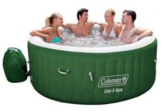 Are you looking for the most popular inflatable hot tub? This post is going to tell you about the Coleman Lay Z Spa Inflatable Hot Tub by looking at the features, the price, and where to buy. Jacuzzi, Spas, Inflatable Hot Tub Reviews, Lazy Spa, Massage, Portable Spa, Unique Mothers Day Gifts, Top 5, Hot Tubs