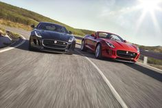 2016 sees the F-Type get manual transmission and an all-wheel-drive option