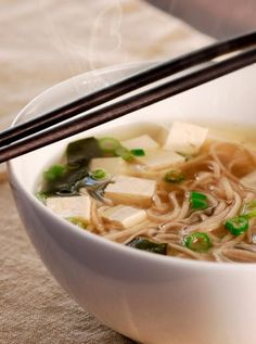 sopa de miso receta