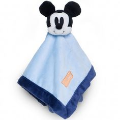 Mickey Mouse Plush Security Blanket