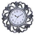 """Creatieve Wandklok Europese Retro Horloge Lacework Ronde Klokken Stilte 10"""""""