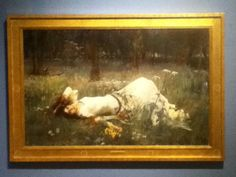 """Ophelia"" by John W Waterhouse, original at Portland, Art Museum"