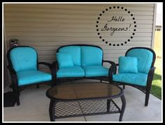 ** Wonderful Paint Your Patio Seat Cushions and Rework Your Patio for Much less Than $50! - Savers4Life
