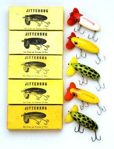 Fishing ~ Arbogast Jitterbugs