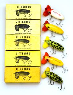 Fishing ~ Arbogast Jitterbugs