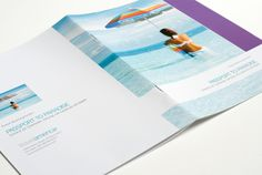 logo, stationery system, 15 brochures, and Point of Sales materials