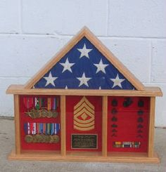 Shadow Boxes,Flag Case,Sword Case,uniform shadow boxes,wooden chevrons and sword holders Military Shadow Box, Military Crafts, Vintage Sailor, Handmade Decorations, Marine Corps, Usmc, Wooden Boxes, Retirement, Promotion