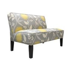 Would look nice in kitchen dining area with a round table in front! Polly Loveseat Settee-Dove; Target