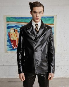 Justin Campbell, William Franklyn Miller, Indigo, It Cast, Vogue, Leather Jacket, Photoshoot, Hoodies, How To Wear