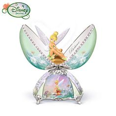 "Disney Tinker Bell Music Box ""When You Wish Upon a Star"""