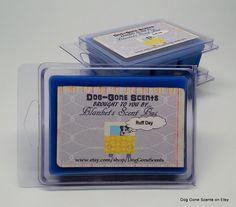 Dog Gone Scents Ruff Day Sinus Relief (like Vicks Vapor Rub) Wax Melt / Tart Bar by Blankets Scent Bus. #candle #wax #melt #tart #dog #sinus #cold #relief
