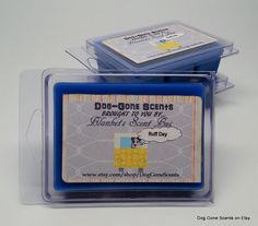 Dog Gone Scents Ruff Day Sinus Relief (like Vicks Vapor Rub) Wax Melt / Tart Bar by Blankets Scent Bus. #candle #wax #melt #tart #dog #sinus #cold #relief