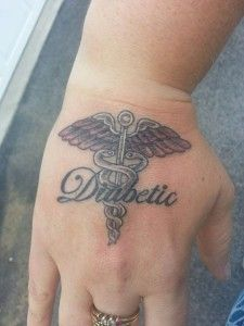 Diabetic tattoo #tattoo #diabetis #diabetic