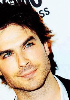 Ian Somerhalder..... I think I'm starting to have a thing for dark haired blue eyed men. :-)