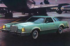 1978 Ford Thunderbird - 2 tone - light jade / dark jade