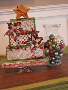 Such fun holiday home decor ideas on the blog today by Susan and Jen N.