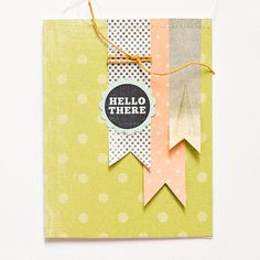 Maggie H. always creates cute and simple scrapbook pieces!