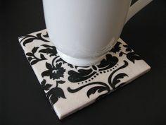 DIY ceramic coasters