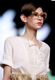 Amra Cerkezovic - Ulyana Sergeenko Haute Couture S/S 2013