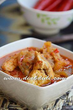 Diah Didi's Kitchen: Sambal Goreng Tahu dan Krecek Kulit Tofu Recipes, Asian Recipes, Healthy Recipes, Asian Foods, Diah Didi Kitchen, A Food, Food And Drink, Indonesian Cuisine, Indonesian Recipes