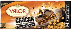 Chocolate Valor + Mister Corn. Una mezcla explosiva. ¿Te atreves a probarla?