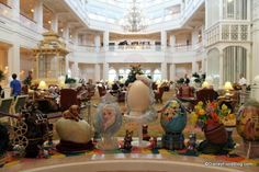 Photo Tour of The 2014 Grand Floridian Resort Easter Egg Display in Walt Disney World!