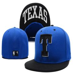 a8e8cbf20ebf0 Wholesale Texas Rangers Street Fitted Fashion Hat T Letters Fitted Cap Men  Women Basketball Hip Pop Hats
