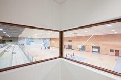 © 11h45 / Gymnase du collège Jean Salines, Roquebilliere (06) - Mascherpa Architectes