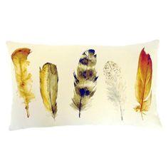 Feathers Boudoir Cushion