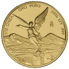 2016 1/10 oz Proof Mexican Gold Libertad coins from JM Bullion™