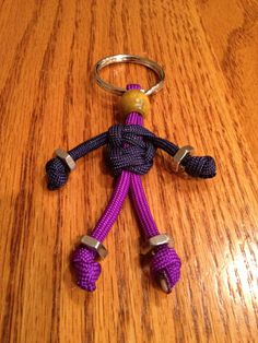 Paracord Buddy Keychain by Paraspirit on Etsy