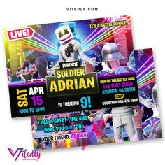 DJ Marshmello Invitation with FREE Thank you card! Digital Files will be delivered within or less! FREE Thank you card included! Digital Invitations, Birthday Invitations, Minecraft Invitations, E Invite, Laser Paper, Free Thank You Cards, Grateful For You, File Format, Text Messages