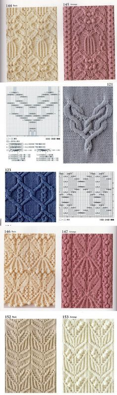 Easy Knitting Patterns for Beginners - How to Get Started Quickly? Knitting Machine Patterns, Knitting Stiches, Knitting Charts, Lace Knitting, Crochet Yarn, Knit Patterns, Stitch Patterns, Knit Stitches, Knitting Needles