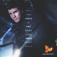 Gale Hawthorne - A survivor turned rebel. #MockingjayPart2