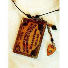 155610ad7572 ouija board necklace Esoterica