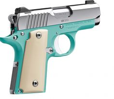 """Kimber's .380 from their """"Summer Collection."""""""