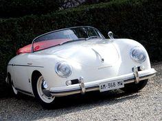 Porsche 356 1600 Super Speedster.  My favorite car, and the only Porsche that will ever enter my garage.