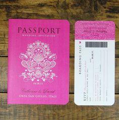 pasaporte boda