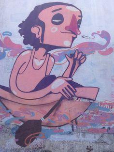 facultad de ingeniería, graffiti, Uruguay