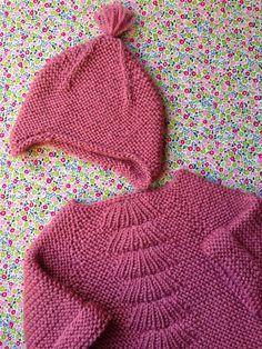 Bonnet tricoté - Chouette Juliette