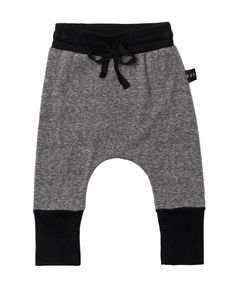 baby harem pants in charcoal grey. #romanandleo